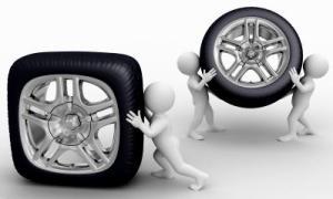 square tire